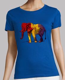 third republic - republican elephant (woman)