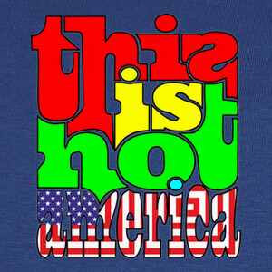 Camisetas This is not America