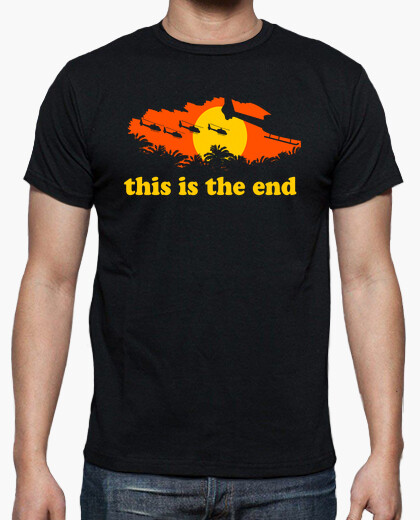 Tee-shirt This is the end