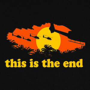 Camisetas This is the end