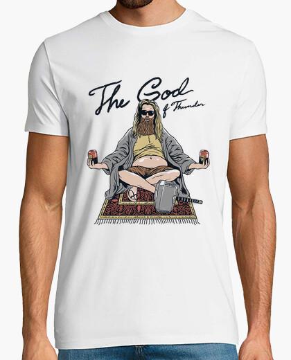 Camiseta thor lebowski camisa para hombre