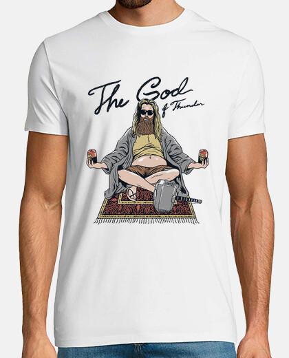 thor lebowski camisa para hombre
