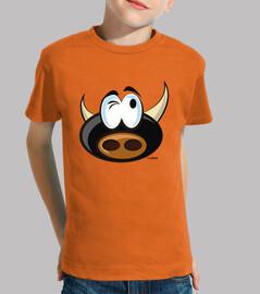 Thoughtful bull