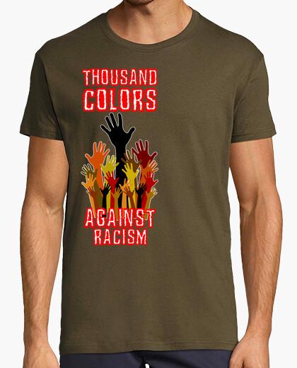 Camiseta Thousand Colors Against Racism