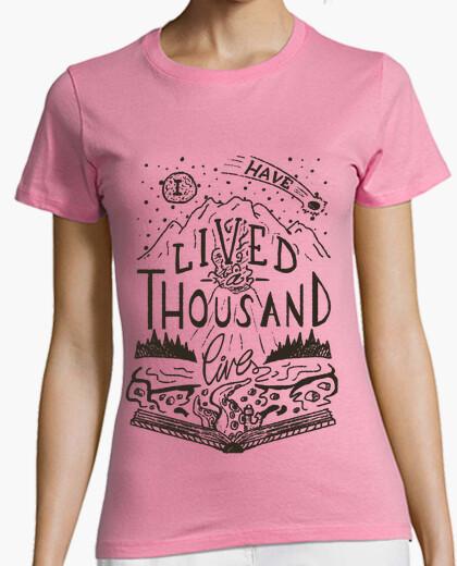 Camiseta Thousand lives