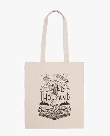 Thousand lives bag