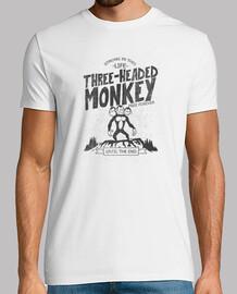 Three-headed monkey