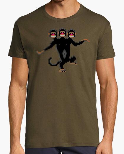 Camiseta Three headed monkey
