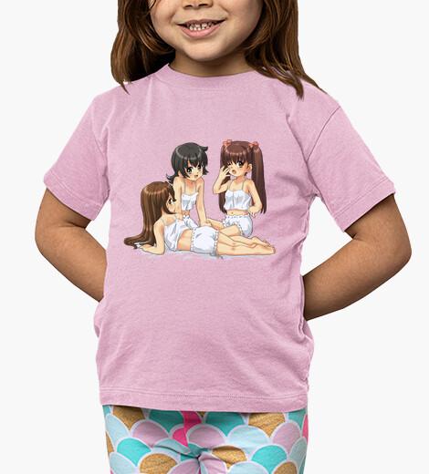 Ropa infantil Three Manga Girls