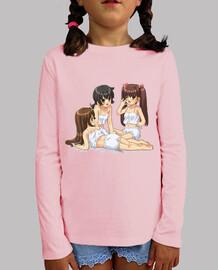 Three Manga Girls