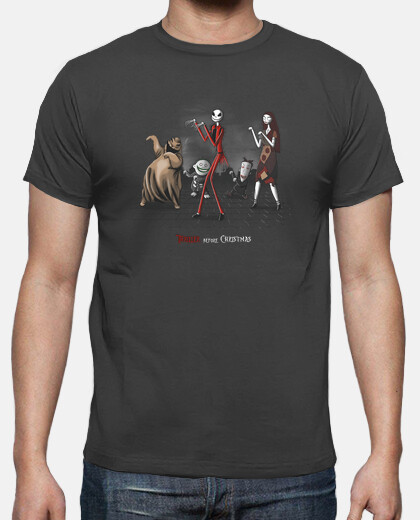 Camisetas Thriller before Christmas