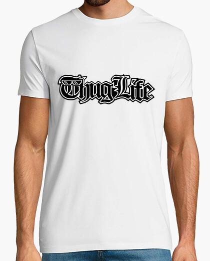 Camiseta Thug Life - LETRAS