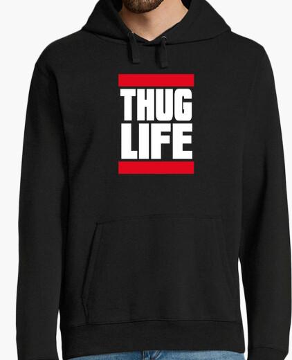 Jersey THUG LIFE WHITE