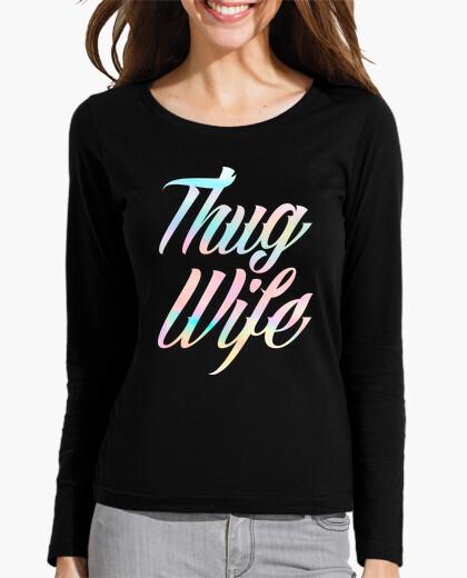 Camiseta Thug Wife