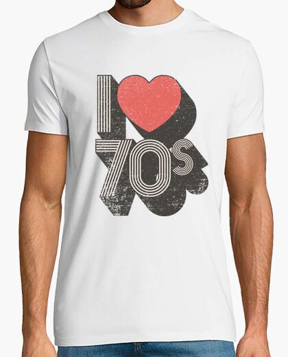 T-shirt ti amo 70s