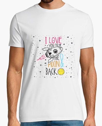 T-shirt Ti amo fino a quando l una e ritorno
