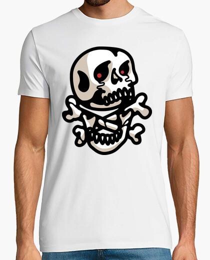 Camiseta tibias cruzadas