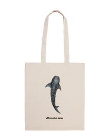 Tiburón ballena bolso bandolera