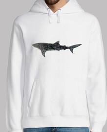 Tiburón ballena jersey hombre