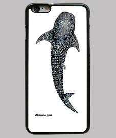Tiburón ballena lienzo