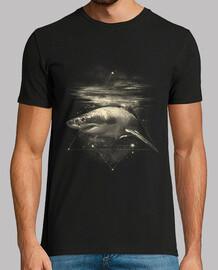 tiburón en el espacio