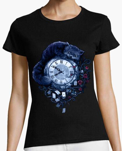 Camiseta tiempo en el país de las maravillas