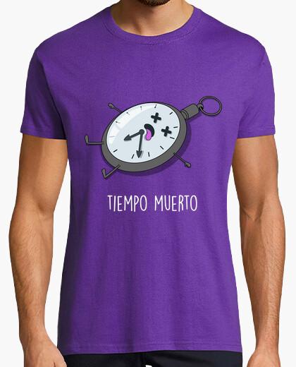 Camiseta Tiempo muerto Black