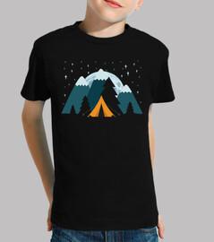 Tienda de Campaña Estrella Luna Montaña