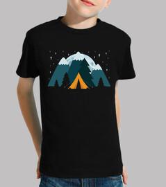 Tienda de Campaña Estrellas Luna Montañ