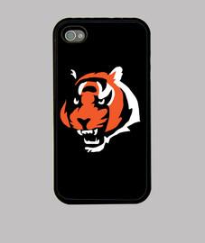 Tiger - Funda iPhone 4, negra