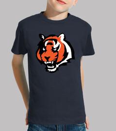 Tiger - Niño, manga corta, azul marino