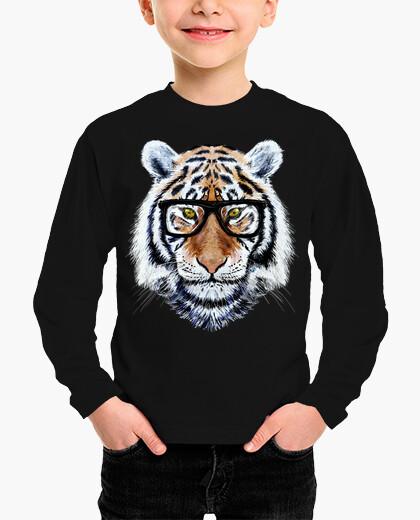 Ropa infantil Tiger Face with Glasses