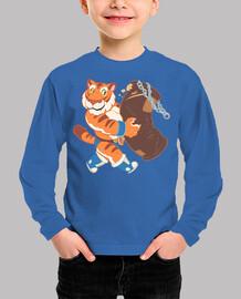 tiger gym t-shirt boy
