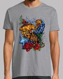 Tiger kämpfen