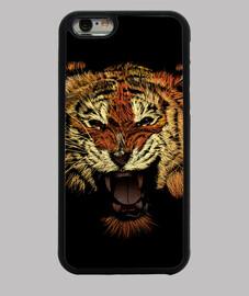 tiger rugir couleur