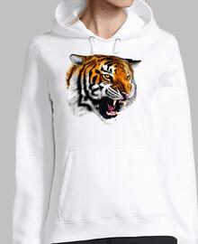 Tiger sweatshirt model