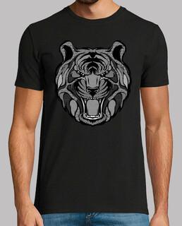 tiger zentangle