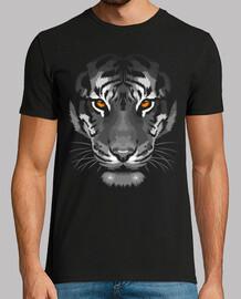 tigre à l'ombre