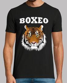 Tigre boxeo