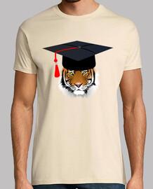 tigre con tocco universitario