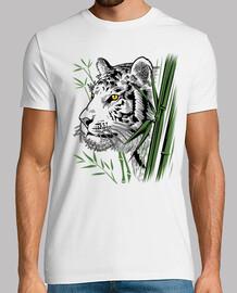 tigre de bambou