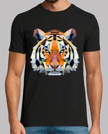 Tigre de Bengala geométrico