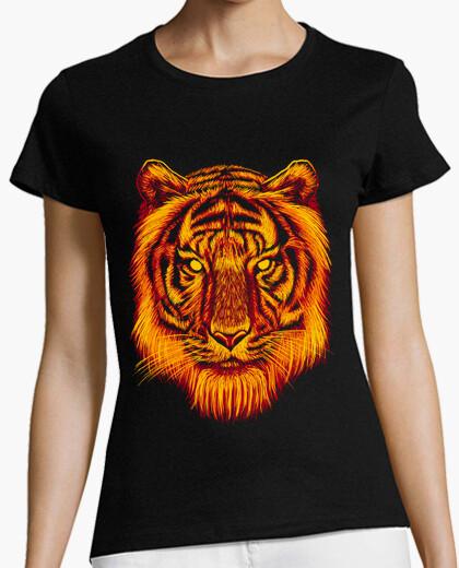 Camiseta tigre del fuego