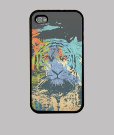 tigre en la jungla