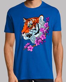 Tigre flores