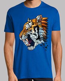 tigre géométrique