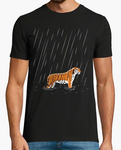 Camiseta Tigre lluvia