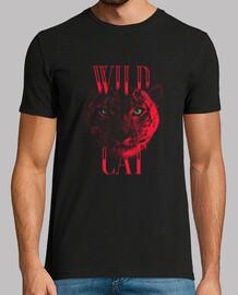 tigre rouge - chat sauvage chat sauvage t - shirt pour les qui aiment les tigres