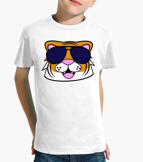 Vêtements enfant tigre visage doodle