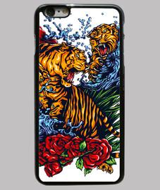 tigres se battent